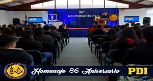 Homenaje 86 Aniversario PDI