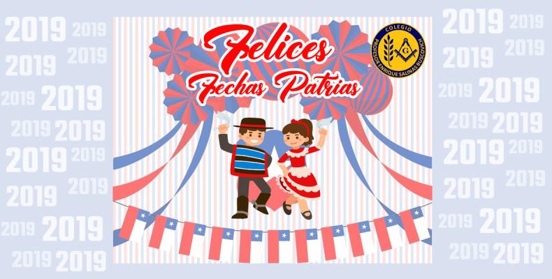 Fechas Patrias 2019