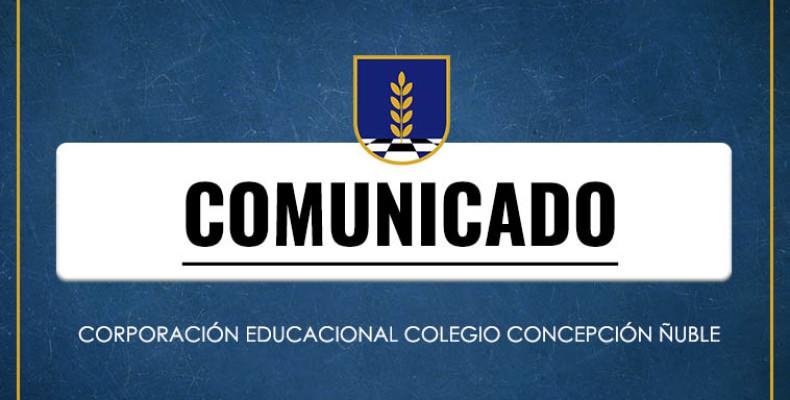 Comunicado Corporación
