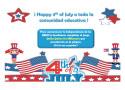 United States Independence Day           (Día de la independencia de los Estados Unidos)