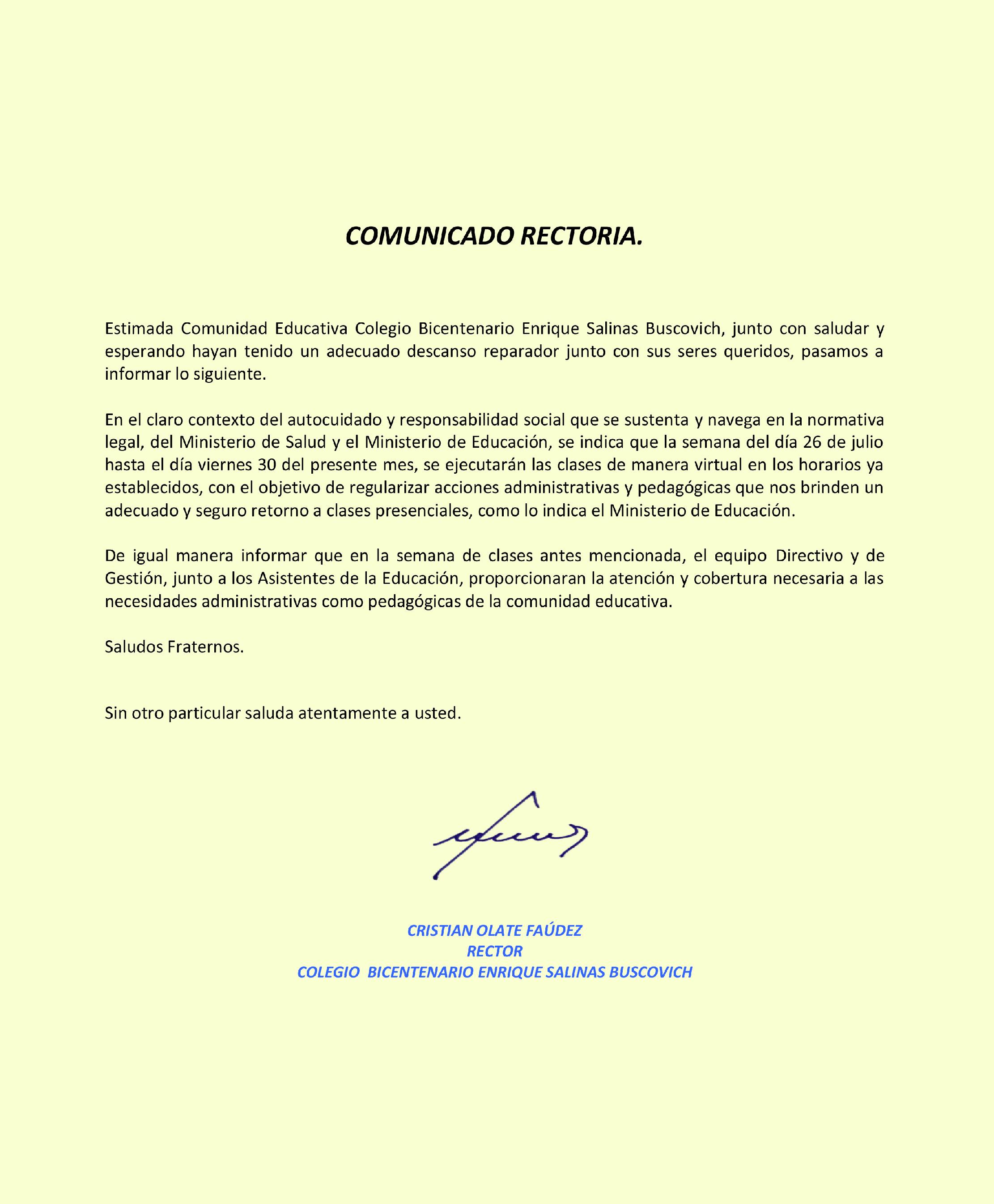 CORPORACIÓN EDUCACIONAL COLEGIOS CONCEPCIÓ ÑUBLE